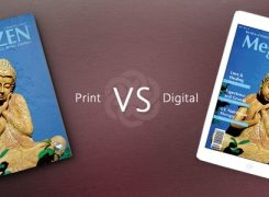 Professional Magazine Design – Print vs. Digital